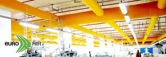 ท่อลมแอร์ผ้า - Fabric Duct จาก Euro Air (Denmark)  Klima Group (Thailand) เราคือ Authorized Distributor ของ Euro Air (Denmark) ออกแบบและนำเข้า ท่อลมแอร์ผ้า หรือที่รู้จักกันในชื่อ Fabric Air Duct, Air Sock Duct, Air Duct Sock, Air Sox Duct, Air Duct Sox, Textile Air Duct เพื่อใช้ทดแทน ท่อส่งลมสังกะสี (galvanized steel air duct)